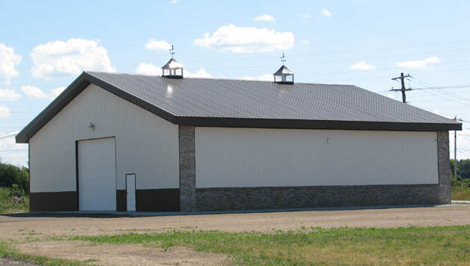 Steel ridge post frame buildings tippecanoe indiana for Pole barns indiana